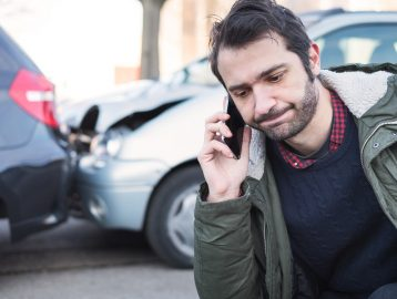 car accident need car towed